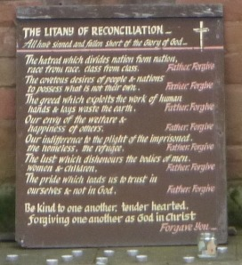 Litany of Reconciliation Buzz 5-2014